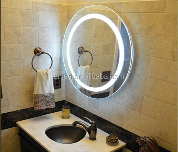 Ip44 Fogless 2835 Led Bathroom Mirror Light With Pull Switch And ...