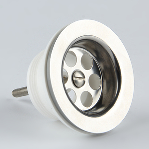 DT-2010 white plastic floor drain trap
