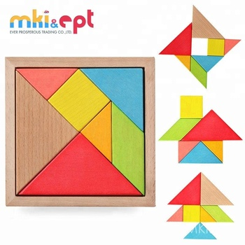 Top quality kids educational wooden puzzle toys for sale
