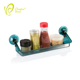 Wall Mounted kitchen can storage bottle display rack