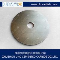 Tungsten carbide saw blanks
