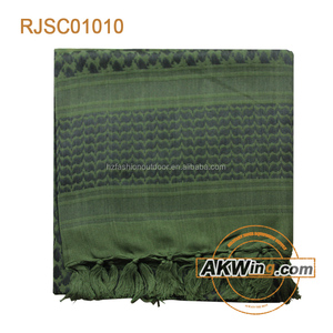 Tactical Wrap Knot Tying Green Headwear Army Scarf/Shemagh