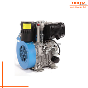 JJ292F Yanto NEW 2 cylinder diesel engine Double cylinder diesel engine with air-cooling