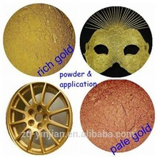 Golden Powder Pigment bronze powder for textile printing for Paint Copper Bronze Powder