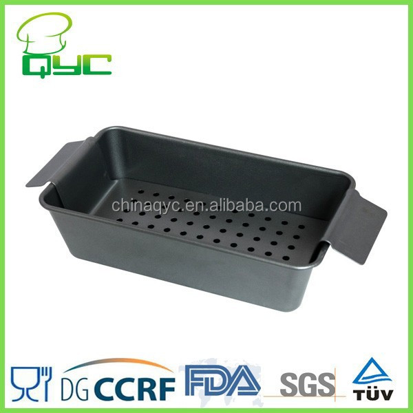 Antihaft-Karbonstahl-Meat Loaf Pan-Set, Backform für Backform und Pfannenform und Backform