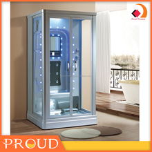 New steam glass shower room with massage function for adult