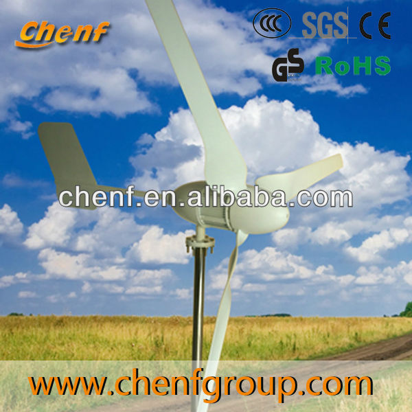 600w wind and solar power hybrid electric system wind electric generator 24v