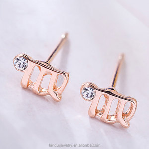 88d581727 China Zodiac Earrings, China Zodiac Earrings Manufacturers and Suppliers on  Alibaba.com