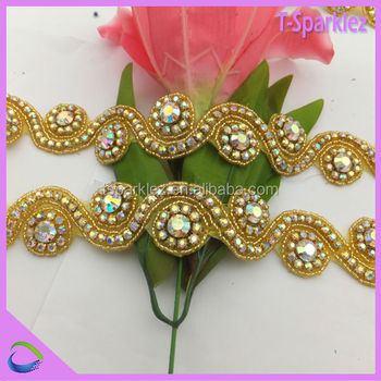 Beads And Pearls Pearl Beads Embroidery Designs Stripes For Wedding