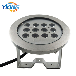 316L Stainless Steel Waterproof IP68 36W Underwater RGB LED Wash Light for Wall