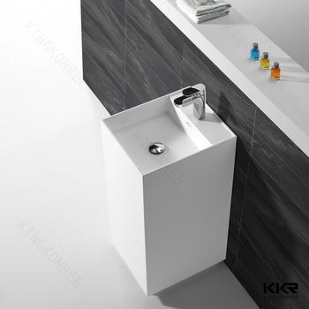 Freestanding Bath Vanity Hair Salon Wash Basin Modern Bathroom Sink