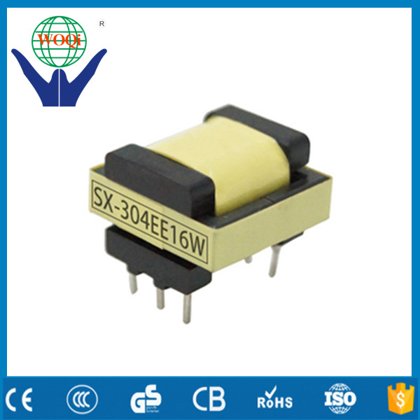 EE13 horizontal step down transformer pin 4+4,24V 12V 5V ei 33 transformer