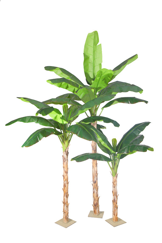 Home Decor Evergreen Chinese Artificial Banana Tree For Beautify