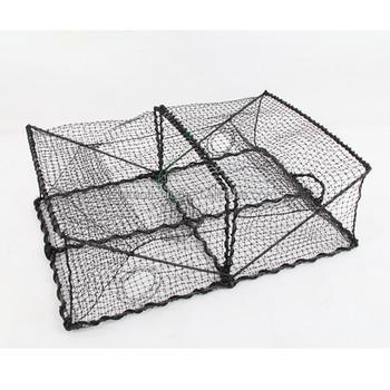 Oem Factory Folding Fishing Wire Mesh Crab Trap
