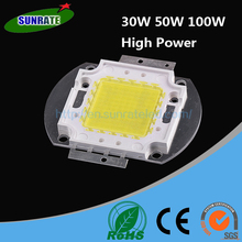 7 Years Verified Supplier 150lm/w 12v 3000lm 30w 50w 100w rgb High Power led Diode Price