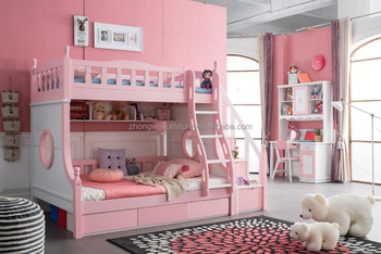 Creative Wood Double Bunk Bed For Children With Hot Sale Buy