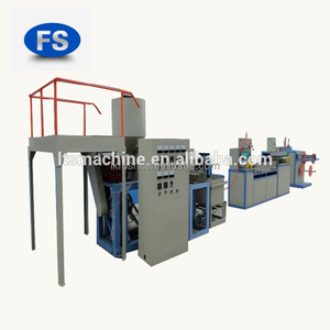 CE Certification and PE/PP Plastic Processed bath shower mesh extrusion line