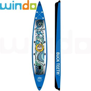 8e4fd2ce2 Cair Ponto De Tecido De Material Inflável Prancha Sup Paddle Board ...