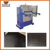 Easy operating embossing leather machine for tannery