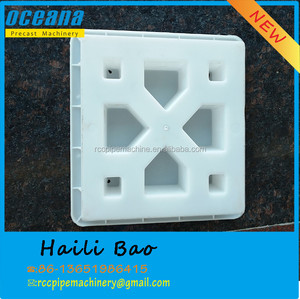 plastic mould for concrete tiles by virbration with wet concrete in facotry shanghai oceana