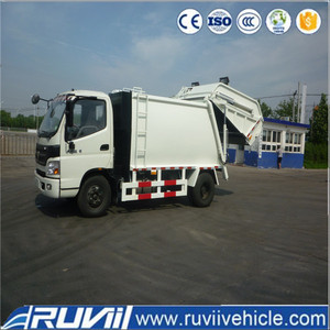 ZJH5111ZYS 7 m3 garbage compactor truck, 12-14cbm garbage compactors