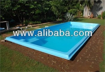 Concrete & Ready Made Swimming Pool - Buy Prefabricated Swimming Pool  Product on Alibaba.com