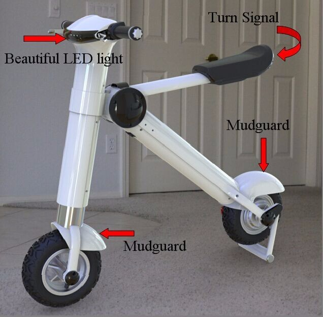 CE 250W~500W 25~35km/h Electric bike/Electric scooter with pedals--ET King