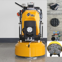 A3 three heads planetary concrete garage floor grinding machine