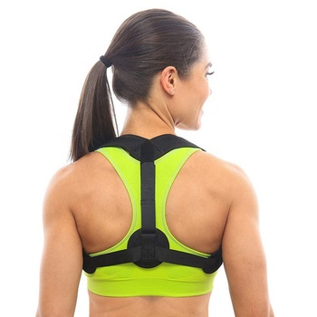 Best Selling Private Label High Quality Breathable Therapy Back Shoulder Brace Support Posture Corrector