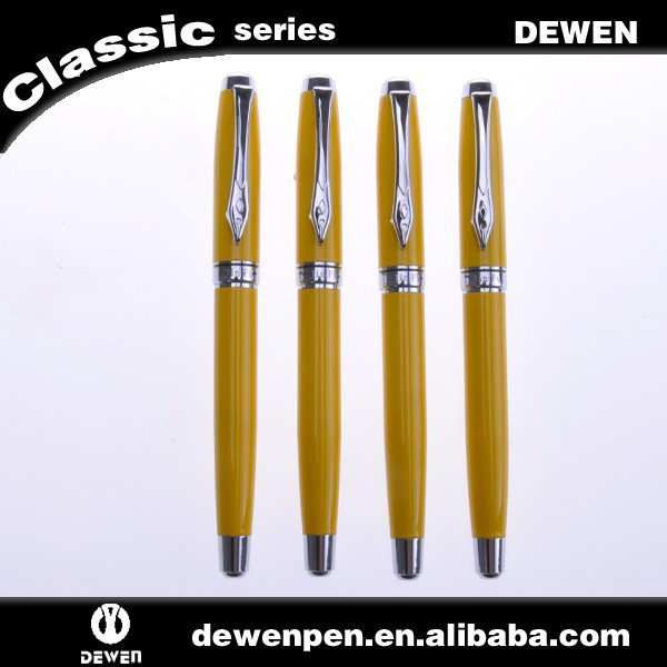dewen pen custom logo Promotional ballpoint roller pen ball pen blank wholesale