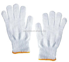 Regenerated 65/35 cotton polyester blended yarn for knitting gloves Ne6s 8s 10s in Russia market
