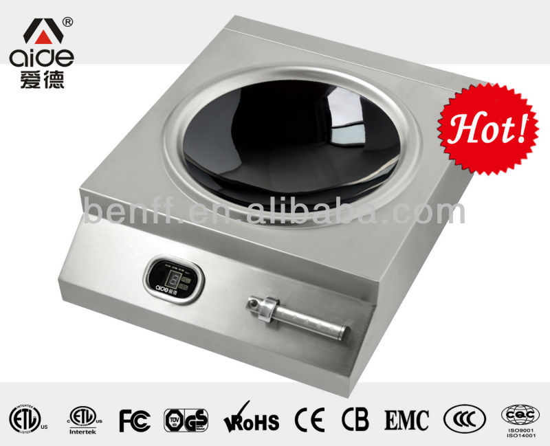 good quality high efficiency 5000W hotel induction cooker