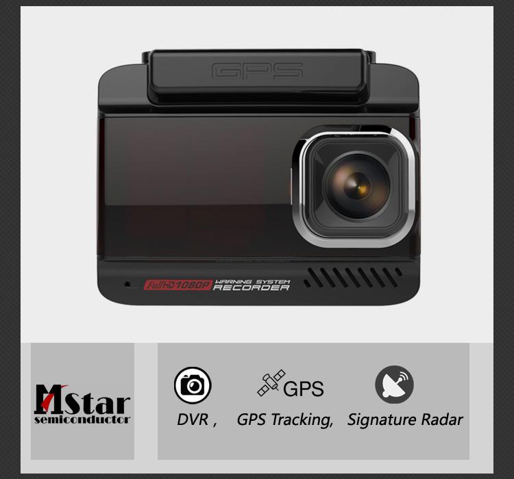 3 inch 1296P Signature Combo Device Car Speed Radar Detector & Car Video Recorder VGR 3 in 1 DVR Radar ST Laser