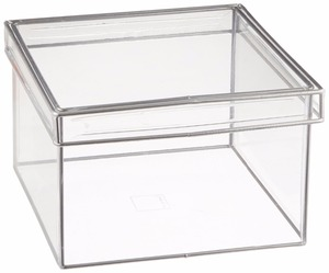 Wholesales Manufacturer Clear Transparent Small Acrylic Display Storage Candy Box With Lid