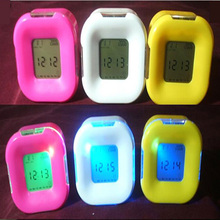W001 hot sell desk table LED mini digital alarm clock