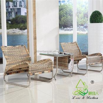 Stühle Wohnzimmer | Elegante Leichte Hotel Spa Indoor Rattan Korbwaren Wohnzimmer Liege