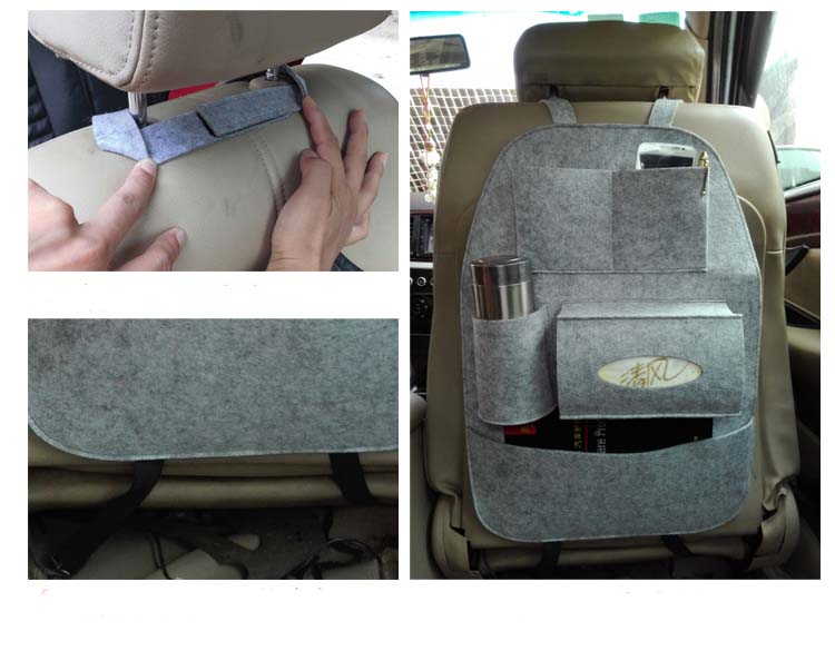 China Manufacturer Multi Pockets Auto Expressions Back Seat ...