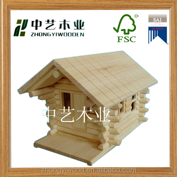 Trade assurance Eco-friendly handmade wooden bird feeder