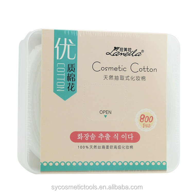 Hot selling products cosmetic tools heathly square cosmetic pads