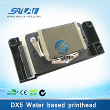 100% new unlocked water based DX5 f187000 printhead for dtg printer dx5 head