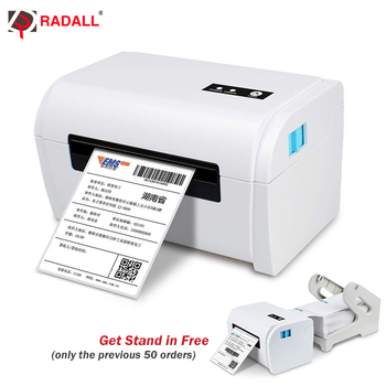 High quality 110mm 4inch Shipping Address Portable Bluetooth/USB Barcode label printer thermal printer