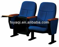 Metal folding cheap price auditorium table and chair YA-04