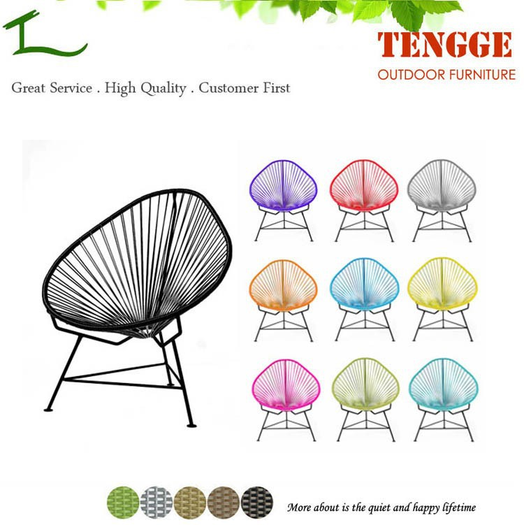 TG15-0092 Garden furniture syntheric rattan Acapulco chair