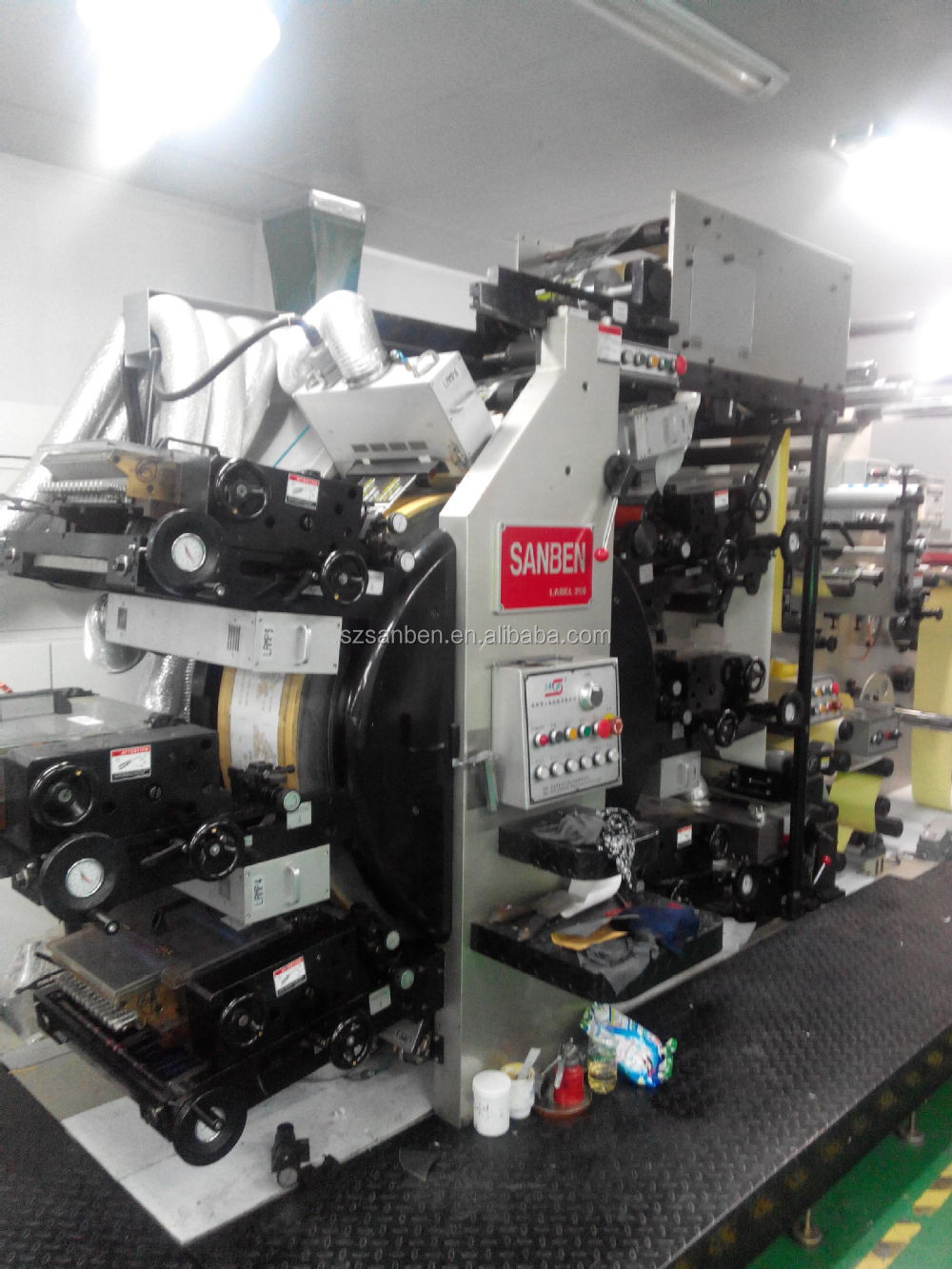 sbl-300) Letterpress Label Printing Machine,Automatic Satallite ...