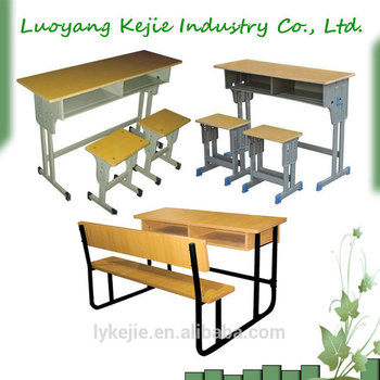 Student Study Furniture Reading Desk College And Chair School Set Used