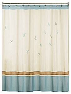 Saturday Knight Jocelyn Bath Collection - Shower Curtain & Hooks with Bath Accessories - Entire Collection by Trendy Linens