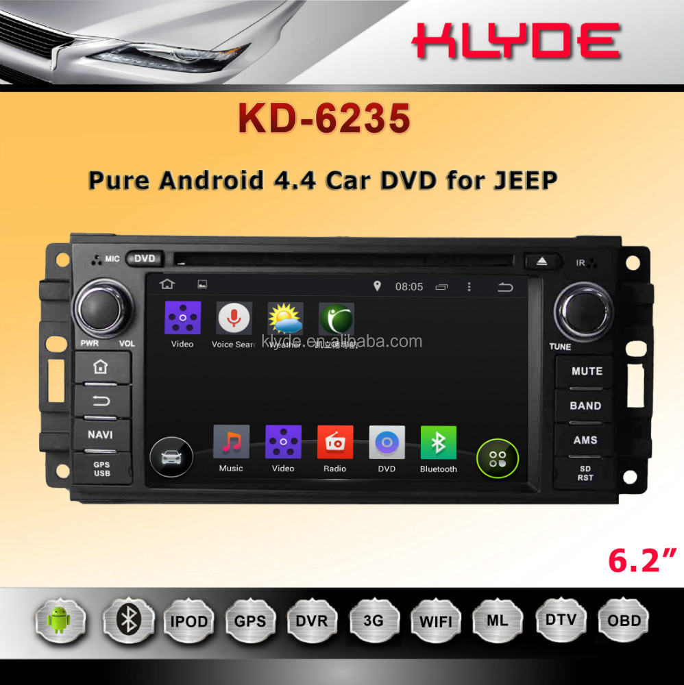 hot !KLYDE touch screen car multimedia gps navigation system for chrysler