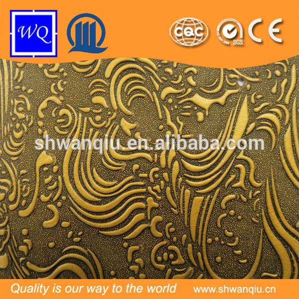 Decorative Interior Embossed Design Mdf Panels For Wall Material Pattern Board