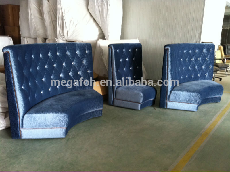 High End Button Tufted Restaurant Booth Seating For Sale Foh Cbck11