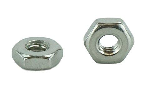 3//4-16 Fine Thread Flexloc-Alternative Nut Thin Height Light Hex Medium Carbon Steel Cadmium Plated//Wax Pk 50